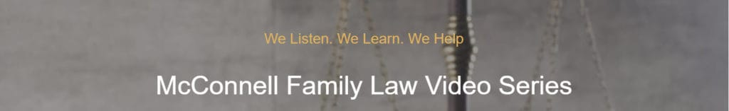 Video Series about Family Law matters