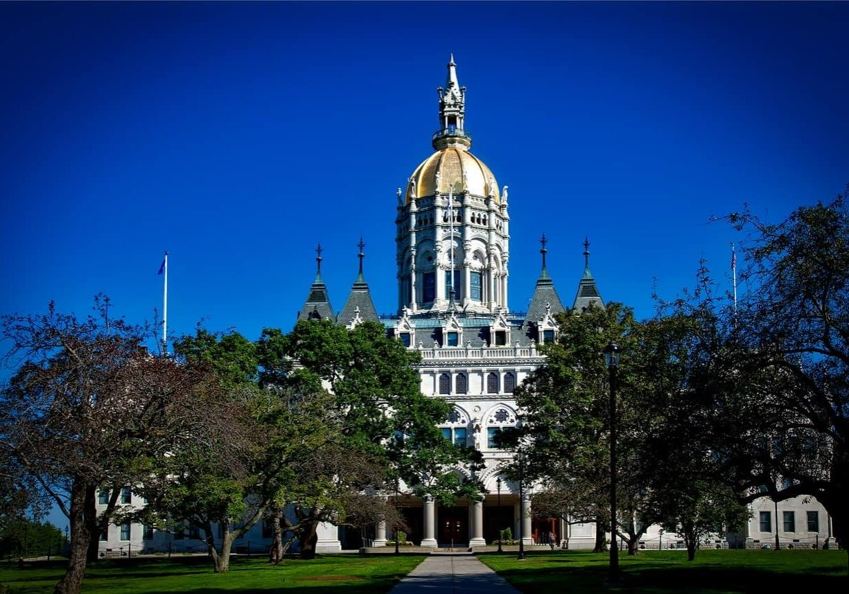 Hartford, Connecticut state capitol